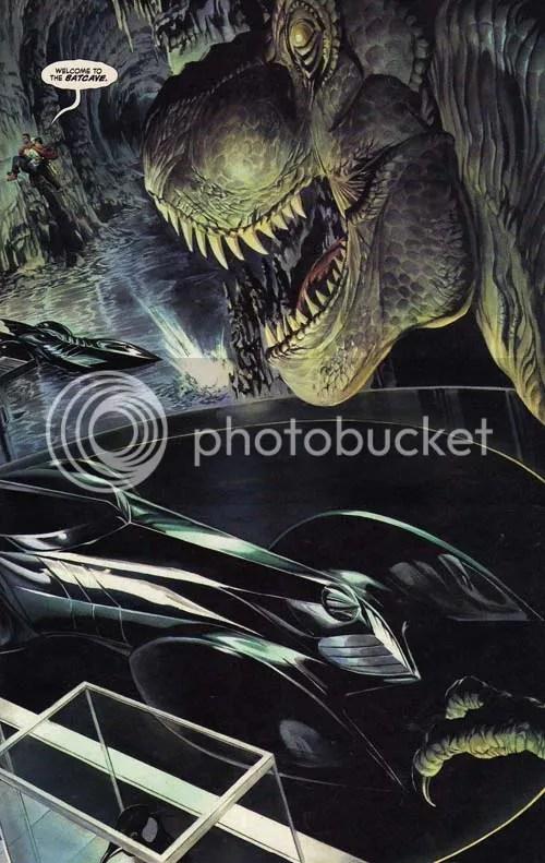 Holy T-Rex Batman!