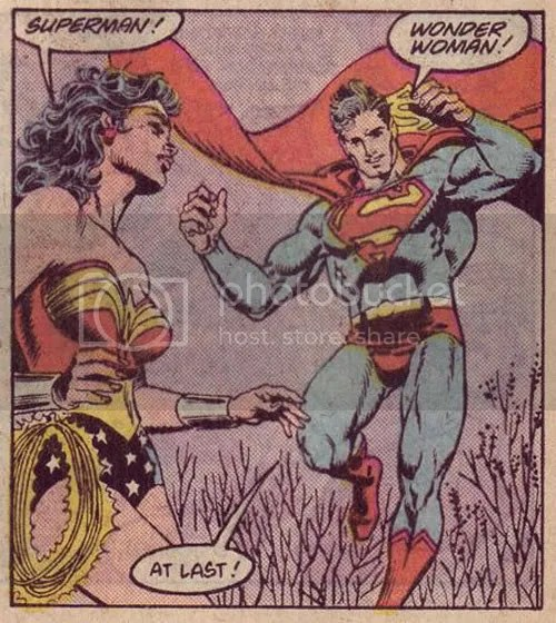 Adventures of Superman #440! The Man of Steel tries to bang her in the next panel!