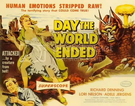 the day the world ended!