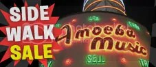 AMOEBA SIDEWAK SALE AUGUST 4TH