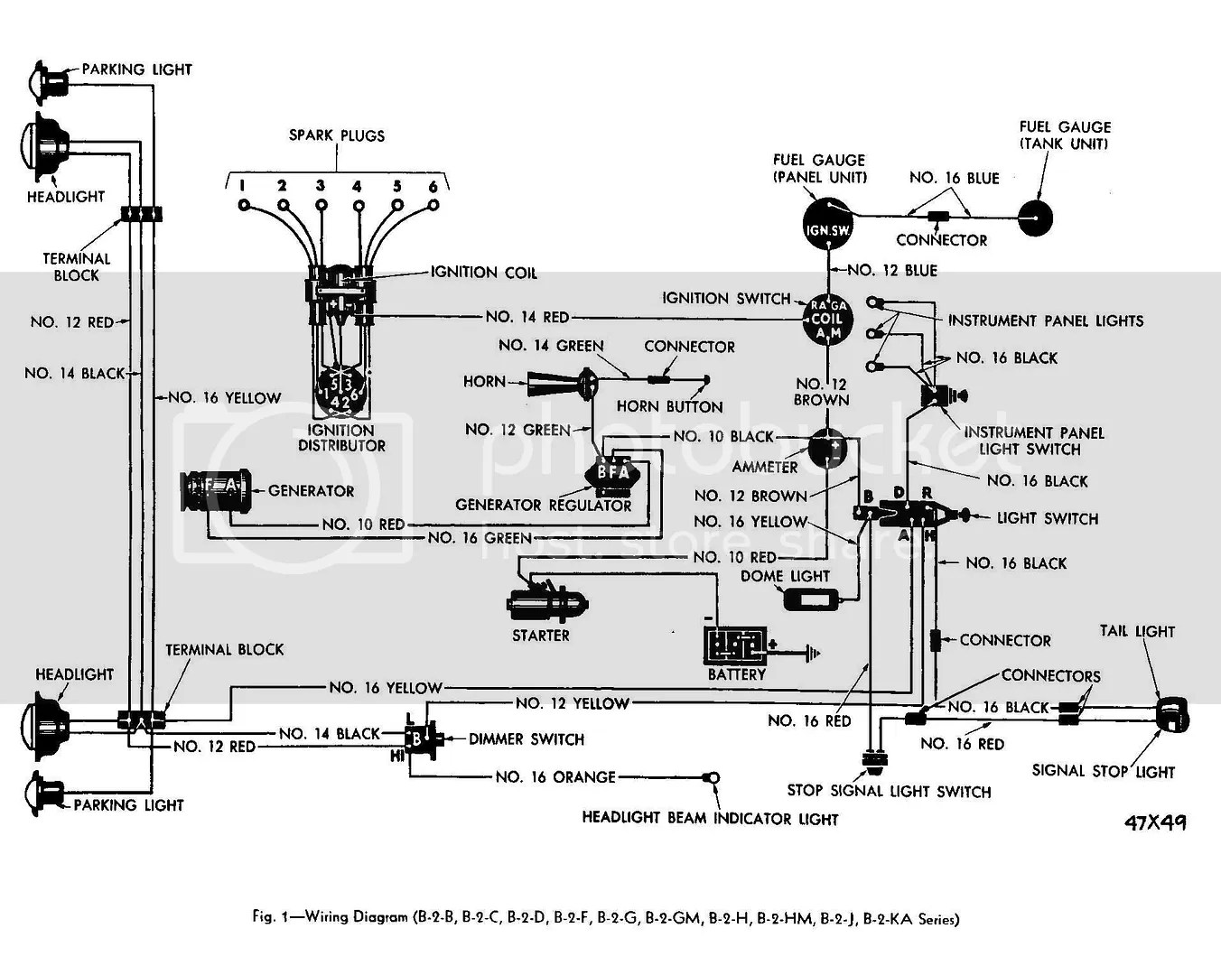 1967 Jeep Cj5 Wiring Diagram
