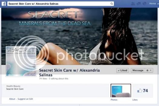 Image: Seacret Skin Care - Alexandria Salinas