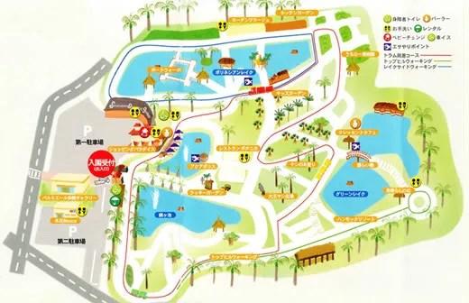 東南植物公園地図