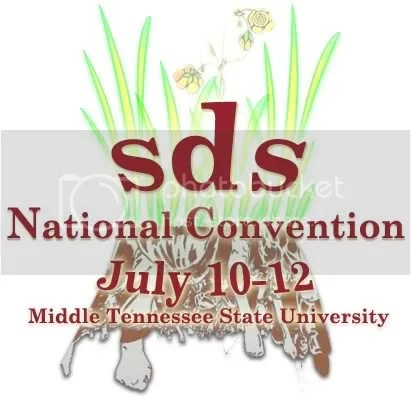 sds national convention graphic