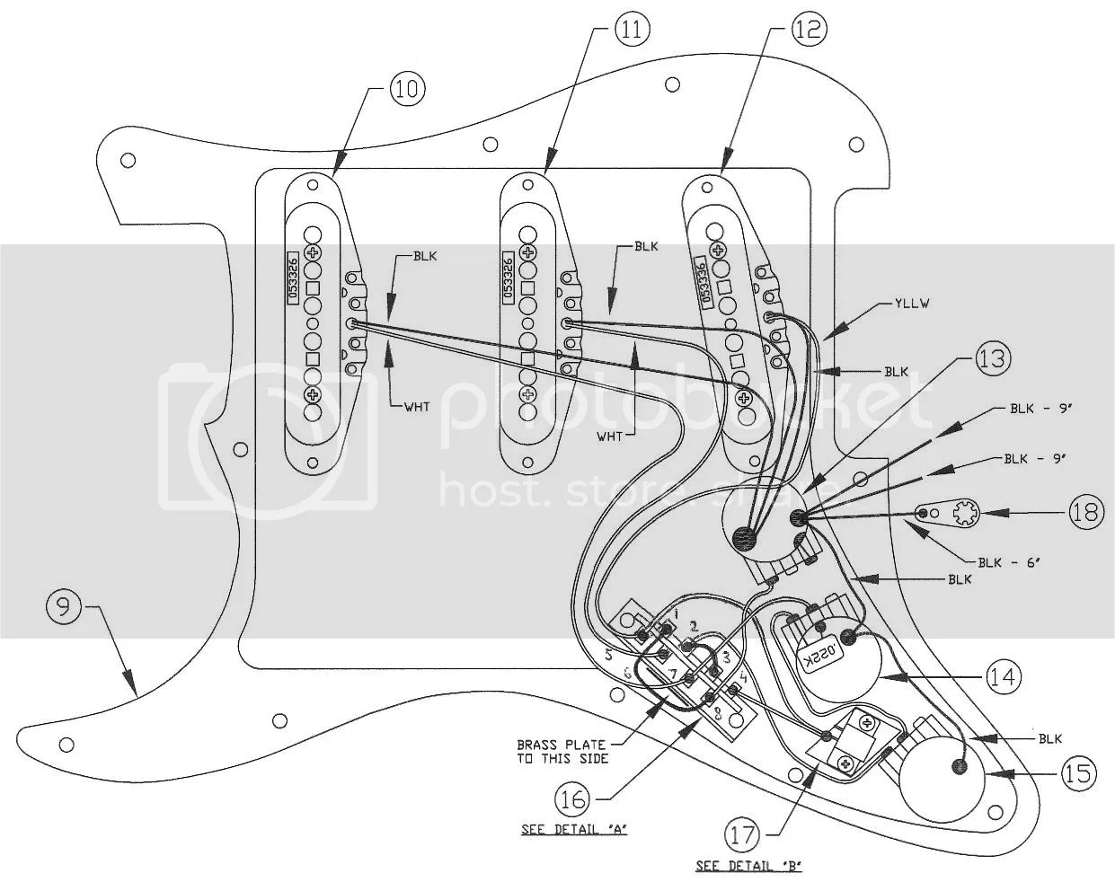 Fender Deluxe Players Strat Wiring Diagram