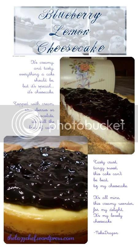 Creamilicious Cheesecake! Mmm!