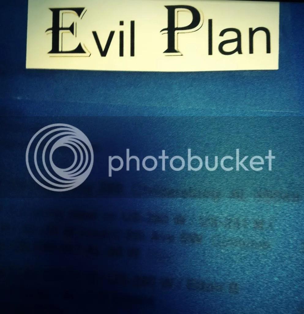 Evil Plan Folder