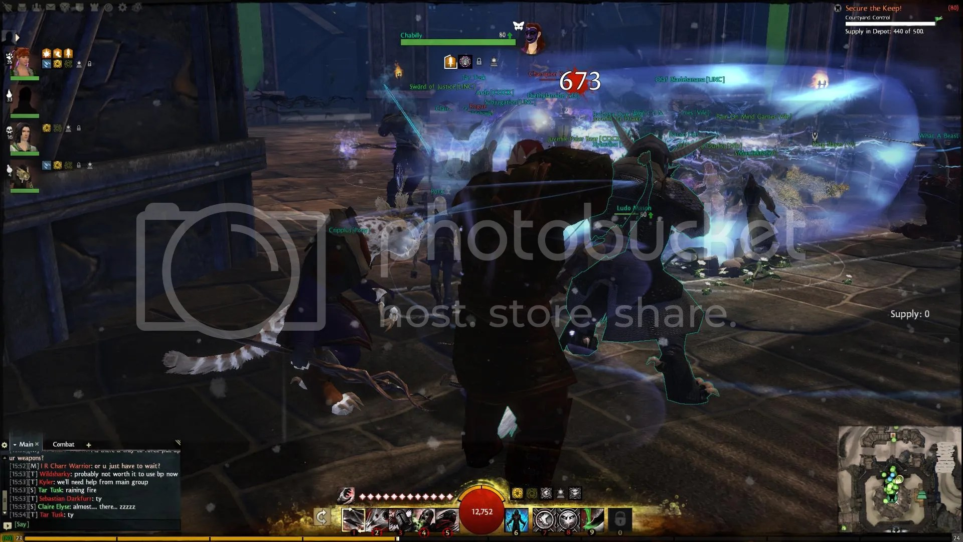 Guild Wars 2 Fort Capture