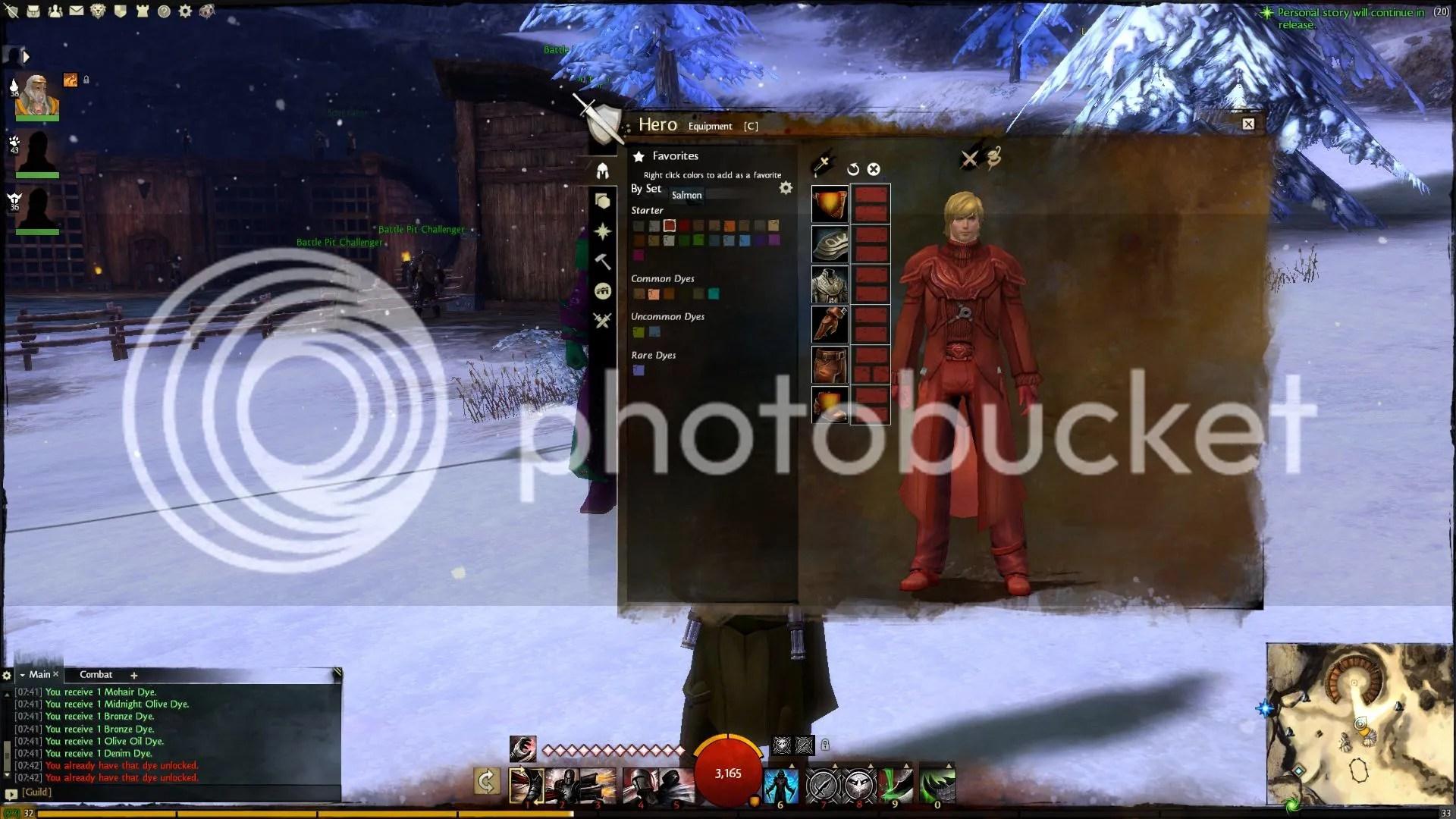 Guild Wars 2 Salmon Dye