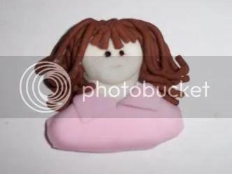 Cake Boneka dengan Rolled Fondant