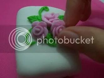 Mini Cake dengan Rolled Fondant