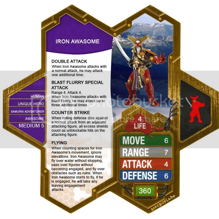 NecroBlade's Customs - 12/01 War Machine (Mini) - Heroscapers