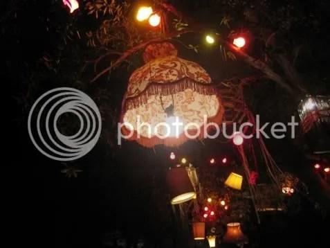 Lampshade tree