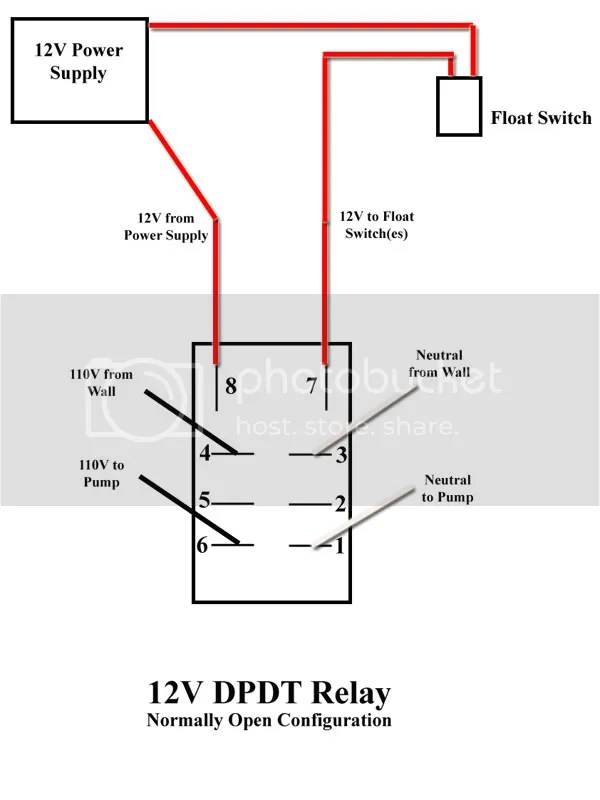Wiring Diagram For A Spdt Relay : Diagrams wiring latching contactor diagram best