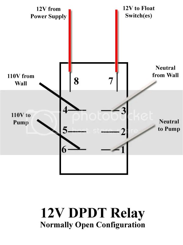 RelayWiringDiagramNO?resize\=600%2C800 dpdt relay wiring diagram basic on dpdt download wirning diagrams Basic Electrical Wiring Diagrams at panicattacktreatment.co