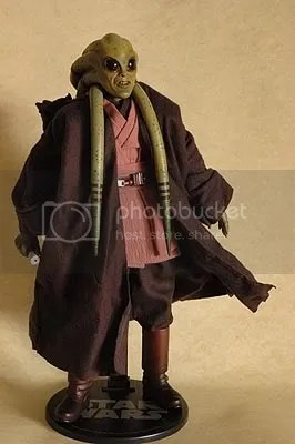 Review Sideshow Star Wars 12 Kit Fisto Swftoys Reviews Showcase And Musings