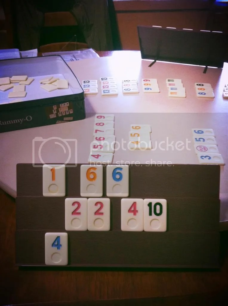365 Grateful Project Day 2 - Rummy-o with parents