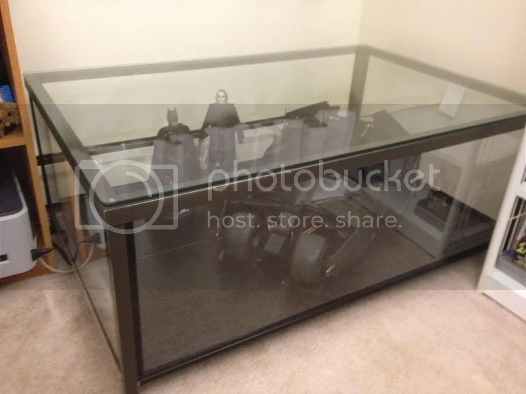 Ikea Granas Coffee Table Become Awesome Display Case