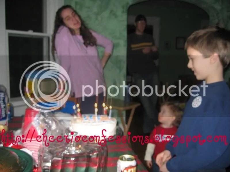 Singing Happy Birthday
