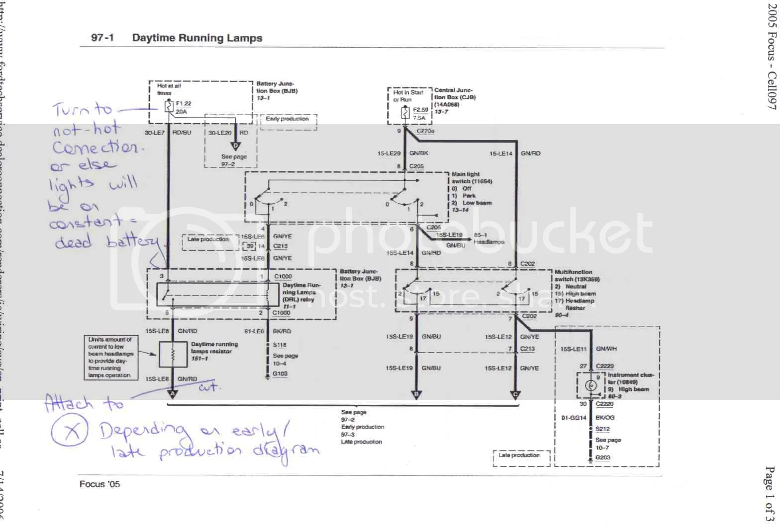 DRLdiagrampage1?resize=665%2C447 ford focus wiring diagram for towbar wiring diagram  at gsmx.co