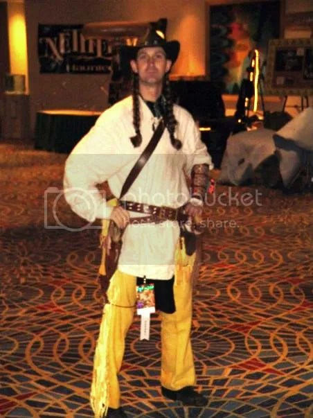 Michael Redturle at DragonCon - Another view