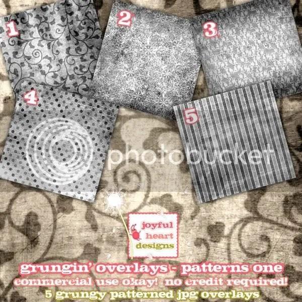 Grungin\' Patterns One