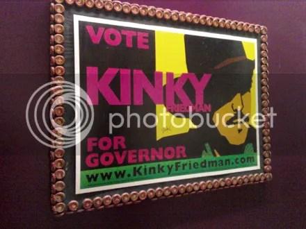 Kinky for Governor