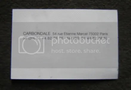 Carbondale Card