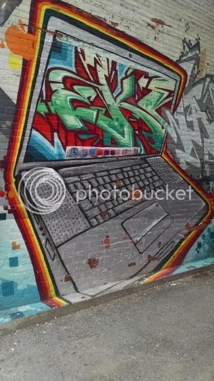Laptop Graffiti
