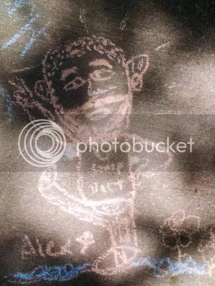 Chalk Cartoon