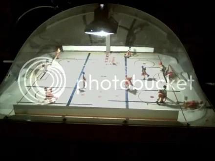 Bar Air Hockey