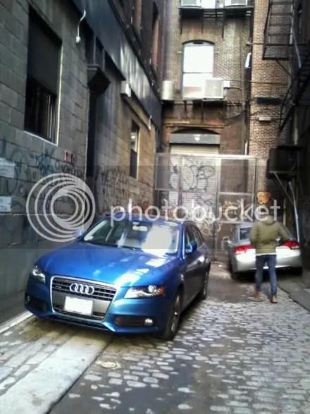 Audi in the Hood