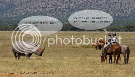 Rhino Frustration