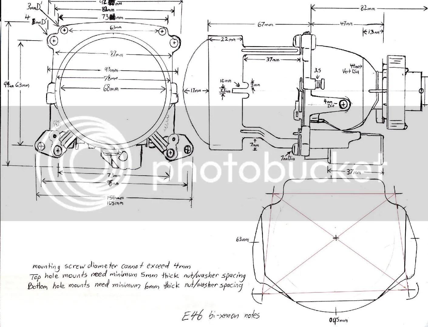 Projector Dimensions