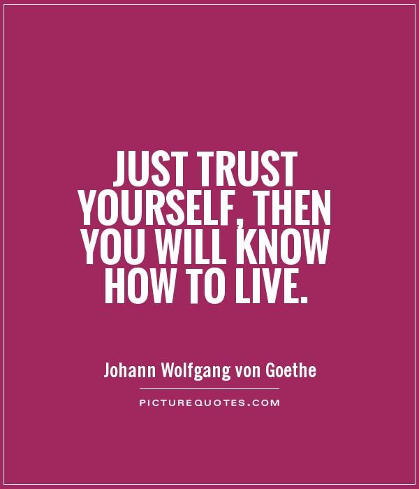 Kuvahaun tulos haulle trust yourself quote