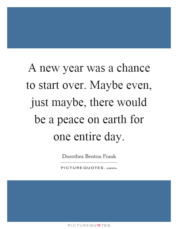 peace new year quotes