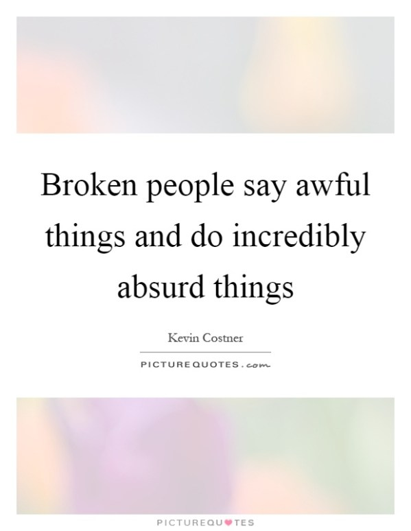 The gallery for --> Quotes About Broken Trust And Love