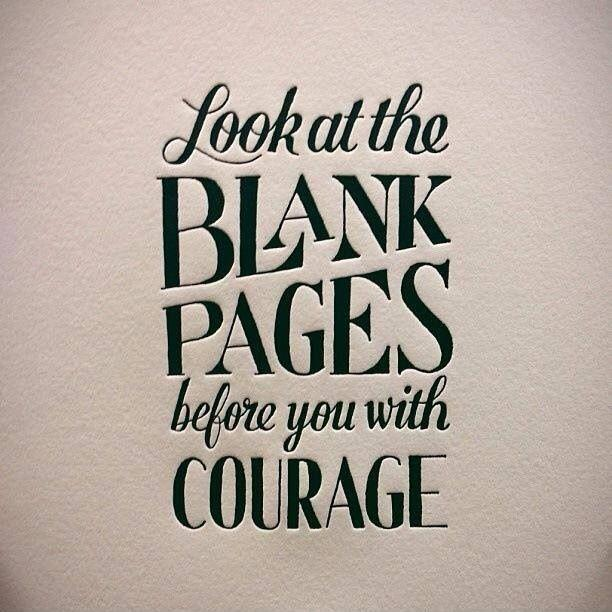 Image result for your life is a blank page