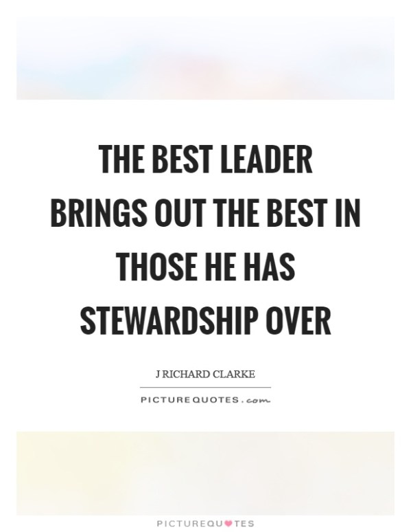 Stewardship Quotes & Sayings | Stewardship Picture Quotes
