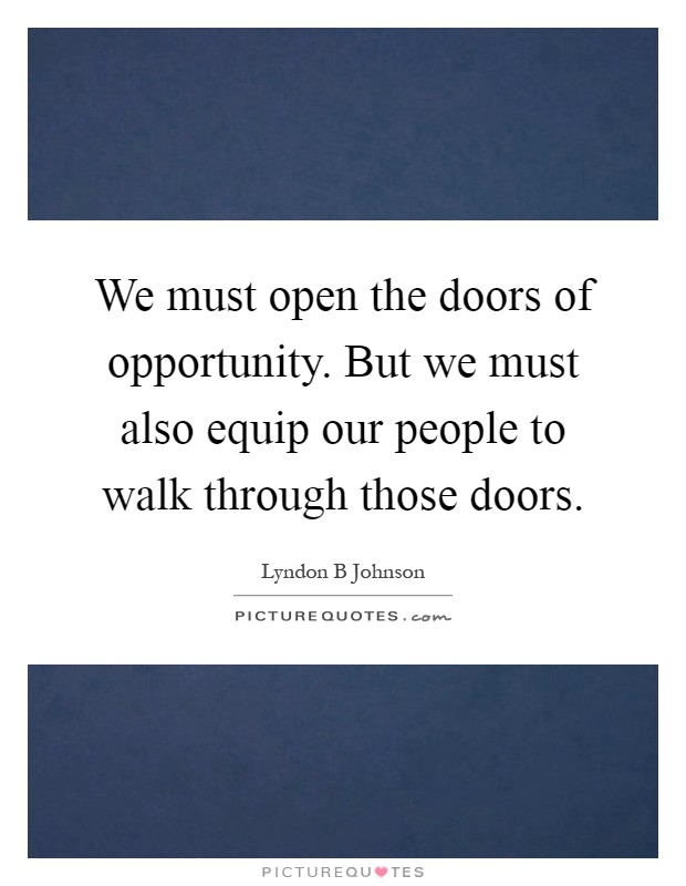 Quotes About Doors Opportunity