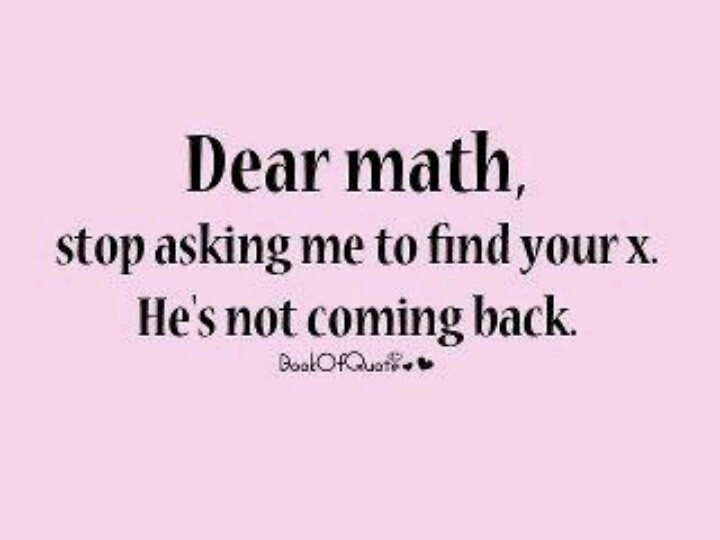 Image result for math quotes funny""