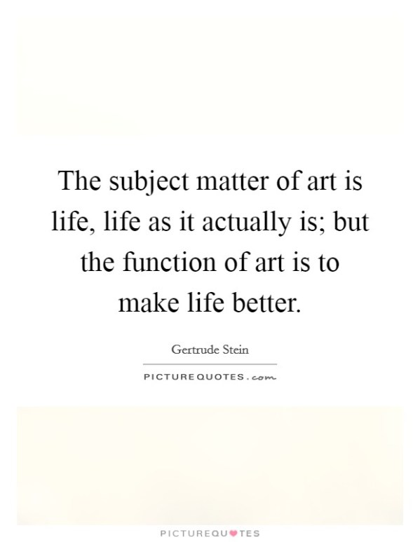 Art Subject Quotes & Sayings | Art Subject Picture Quotes