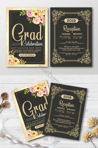images modele de carte de graduation