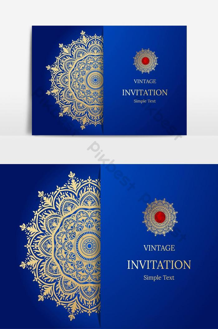 elegant save the date card design