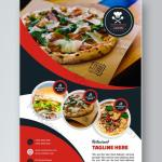 Restaurant Flyer Design Psd Free Download Pikbest