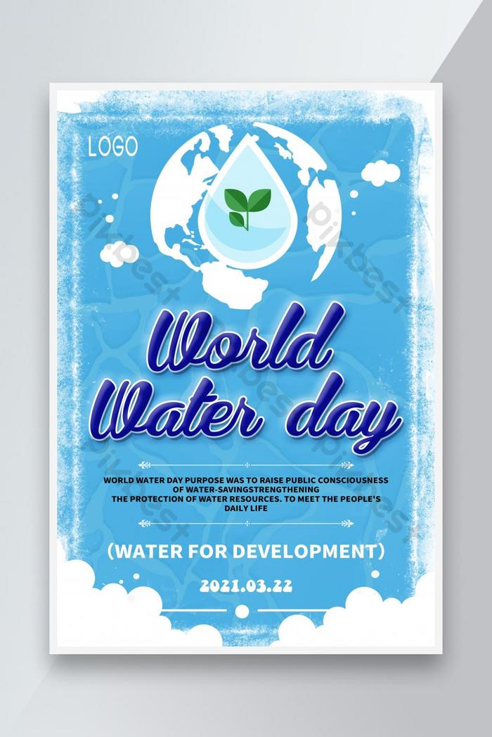 water is one of the prime necessities of human beings. World Water Day 2021 Psd Free Download Pikbest