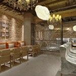 Modern Industrial Style Retro Small Restaurant Decors 3d Models Max Free Download Pikbest