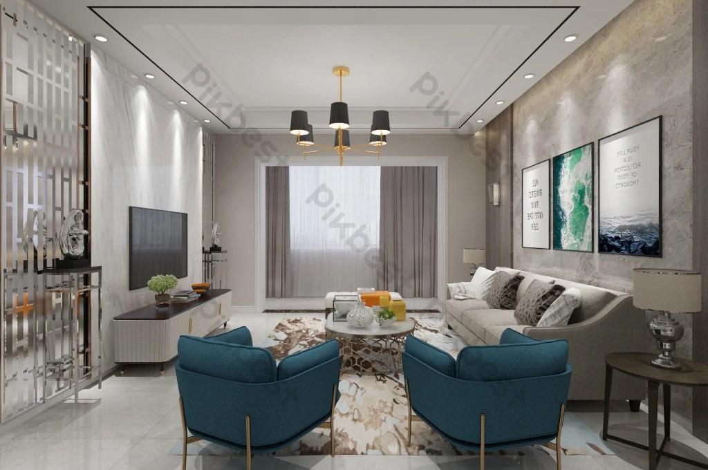 salon de luxe moderne