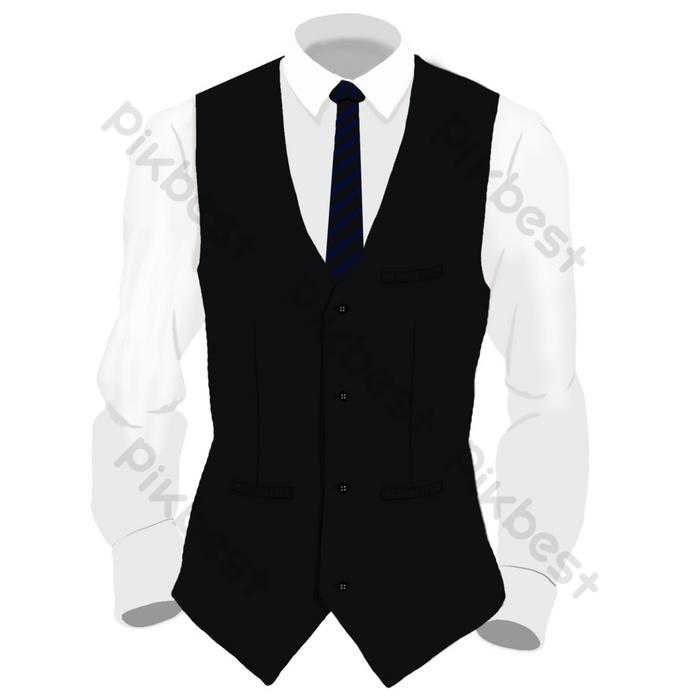 15+ desain jaket couple terbaru, motif top! Kemeja Pengantin Pria Dengan Rompi Elemen Grafis Templat Psd Unduhan Gratis Pikbest