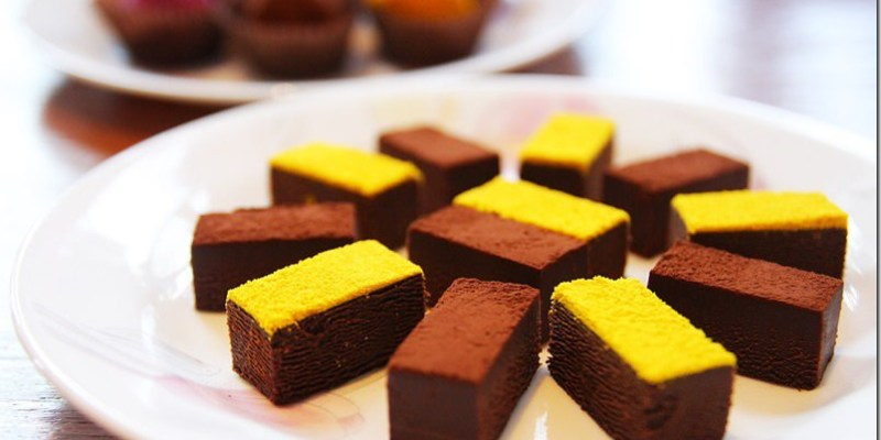 彰化。美食|【佳風蜜】加入蜂蜜的生巧克力送禮表達情意甜蜜蜜 水果冰棒超濃郁